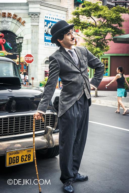 Universal Studios Singapore - Park Update September 2014 - Charlie Chaplin