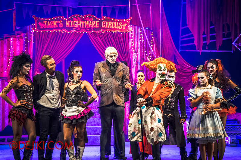 Halloween Horror Nights 4 - Jack's Nightmare Circus - Jack and the cast