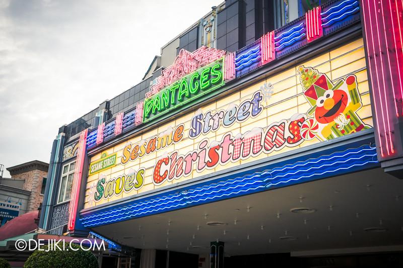 Universal Studios Singapore - Sesame Street Saves Christmas - exterior 1