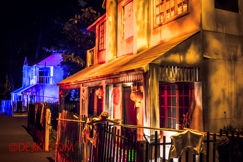 Sentosa Spooktacular - LADDALAND Scare zone overview