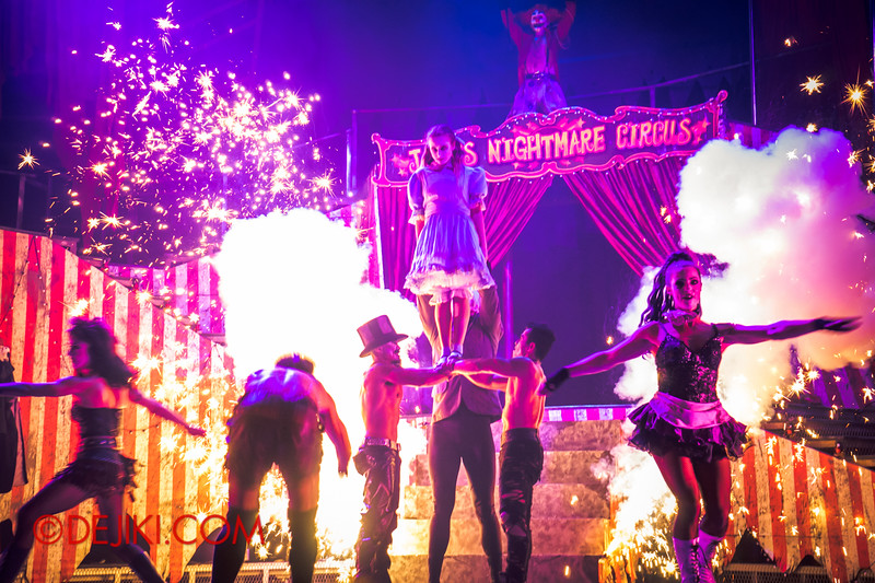 Halloween Horror Nights 4 - Jack's Nightmare Circus - Sparks