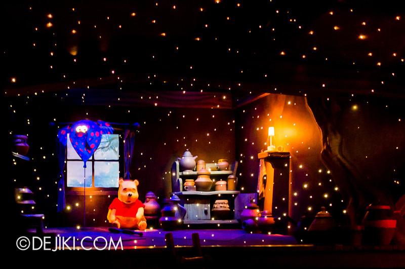 Tokyo Disneyland - Pooh's Hunny Hunt, Pooh's dream