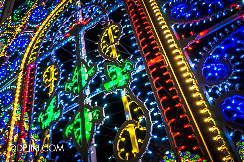 Gardens by the Bay - Winter Wonderland 2014 - Luminarie Close-up 2