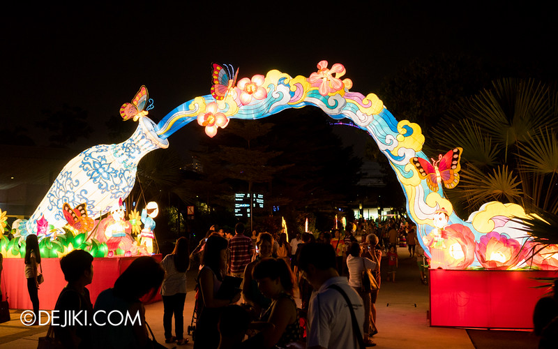 Gardens by the Bay - Mid-Autumn Festival at the Gardens 2014 - The Magic Vase 3
