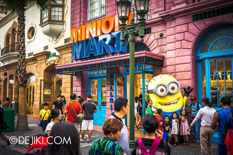 Universal Studios Singapore - Minion Mart 23