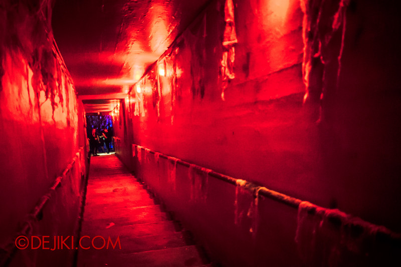 Sentosa Spooktacular 2014 - SWIMMERS Haunted House / Stairway to the deep