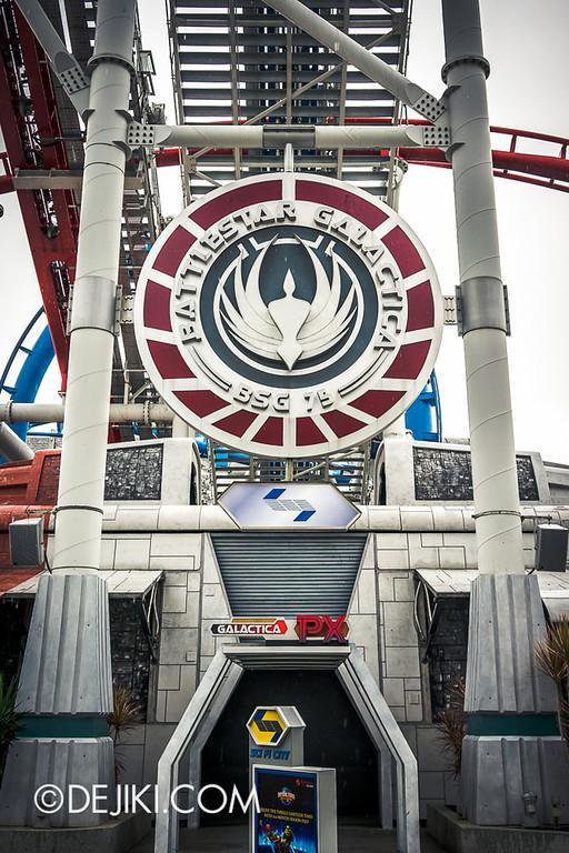 Universal Studios Singapore - Battlestar Galactica 2