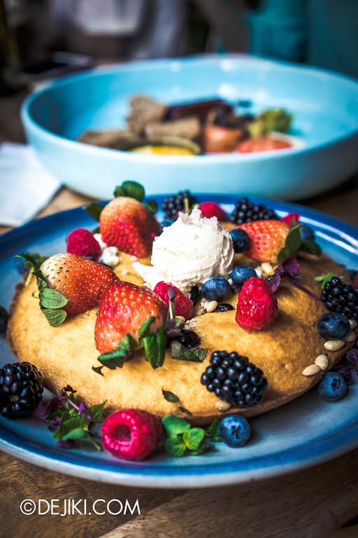 Paddy Hills cafe - Berry Ricotta Hotcake 3