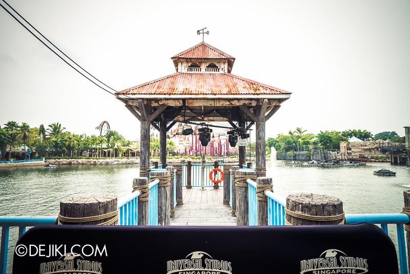 Universal Studios Singapore - Halloween Horror Nights 5 Before Dark Day Photo Report 3 - New York Harbour view