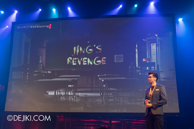USS HHN4 Halloween Horror Nights 4 - Media Preview Launch event / JING'S REVENGE