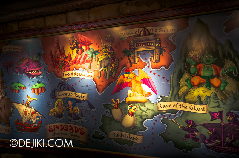 Sindbad's Storybook Voyage - Queue 2