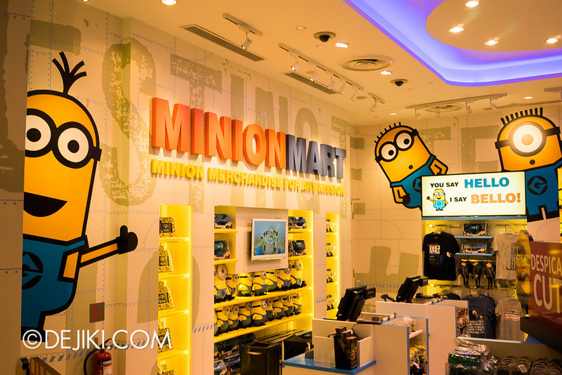 Universal Studios Singapore - Minion Mart 7