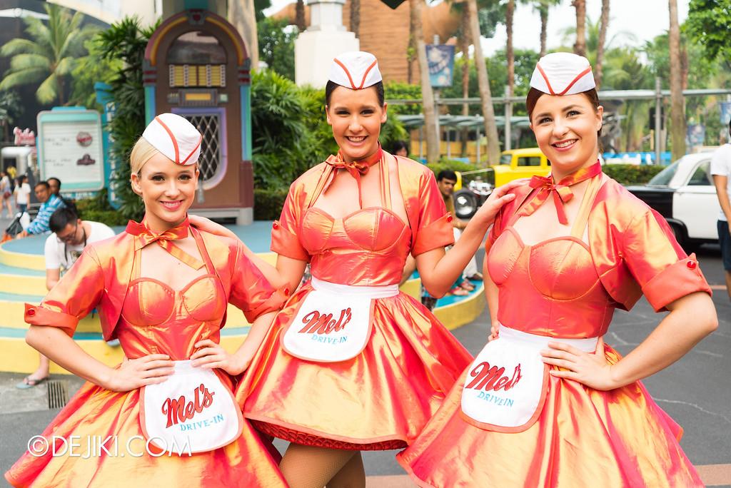 Universal Studios Singapore - Park Update November 2015 / Mel's Dinettes