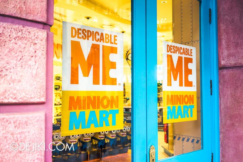 Universal Studios Singapore - Minion Mart 6