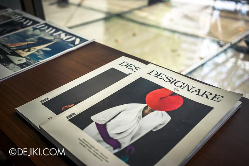 Tiferet Tea Room 8 - Magazines