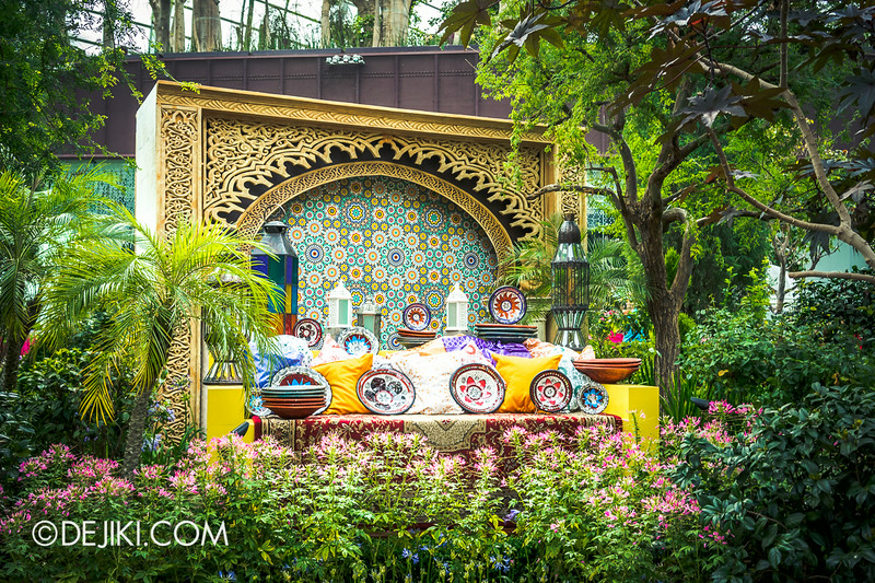 Gardens by the Bay - Persian Garden 2