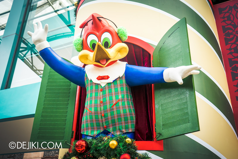 Universal Studios Singapore - Park Update December 2014 - Christmas at Santa's Land / Woody Woodpecker