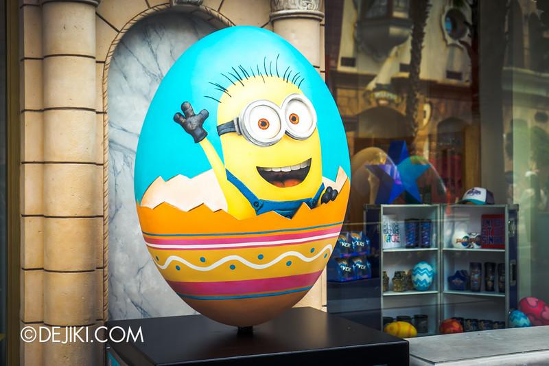 Universal Studios Singapore - Easter Eggstravaganza 2015 - Despicable Me Minion Egg