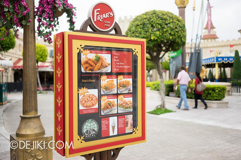 Universal Studios Singapore - Friar's 2