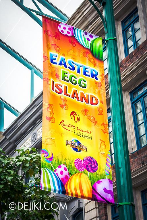 USS Easter Egg Island - Banner
