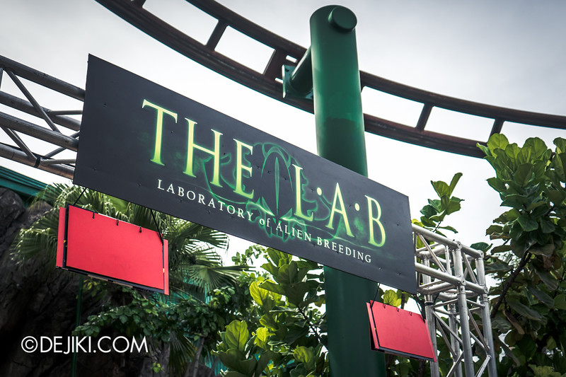 Halloween Horror Nights 4 Singapore - Before Dark 2 - The L.A.B Laboratory of Alien Breeding 2