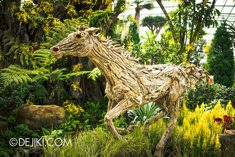 Gardens by the Bay - Year of the Horse Floral Display 24