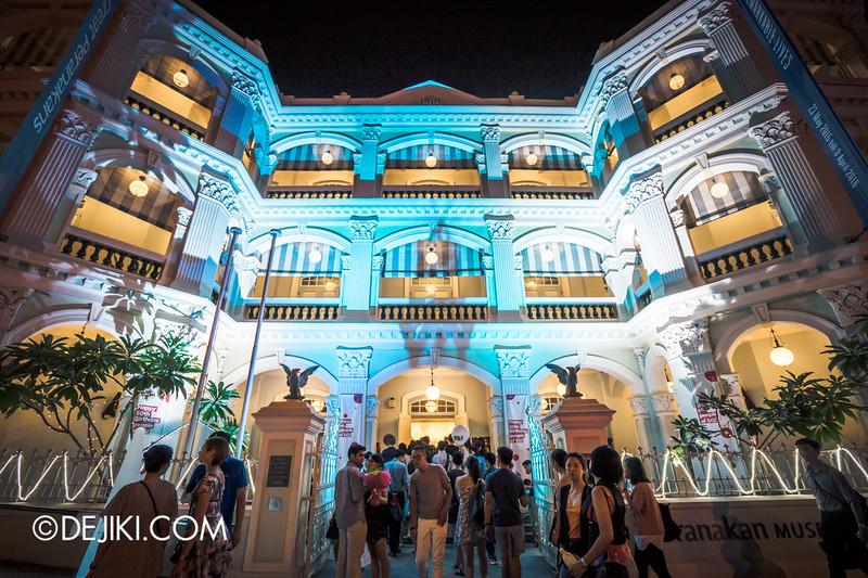 Singapore Night Festival 2015 - Peranakan Museum Open House