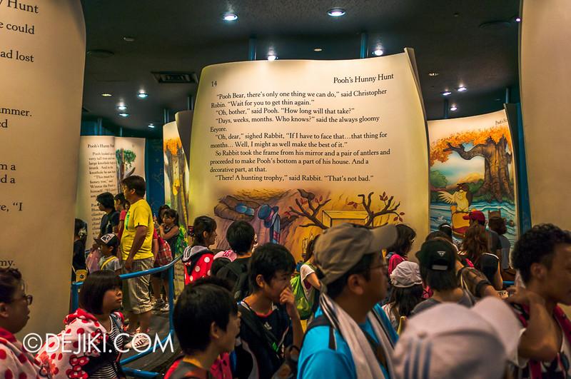 Tokyo Disneyland - Pooh's Hunny Hunt: Queue at load area 3