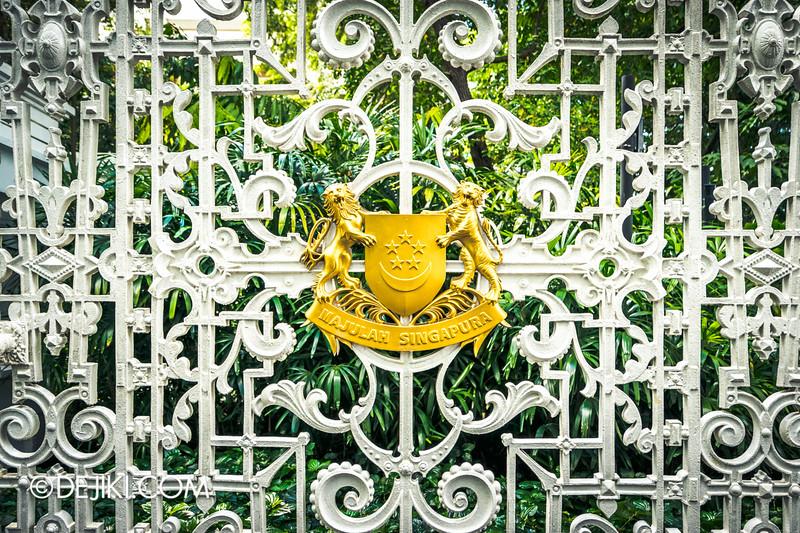 The Istana, Singapore - Istana Main Gates