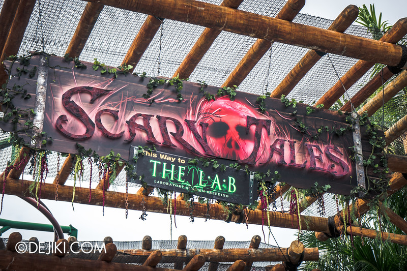 Halloween Horror Nights 4 Singapore - Before Dark 3 - Welcome to Scary Tales