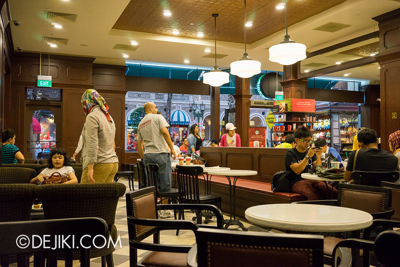 Universal Studios Singapore - Starbucks at USS 3