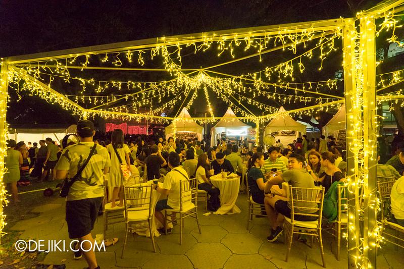 Singapore Night Festival 2015 - Festival Village at Singapore Management University (SMU)