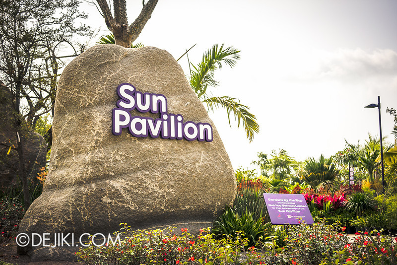 Gardens by the Bay - Sun Pavilion / Entrance