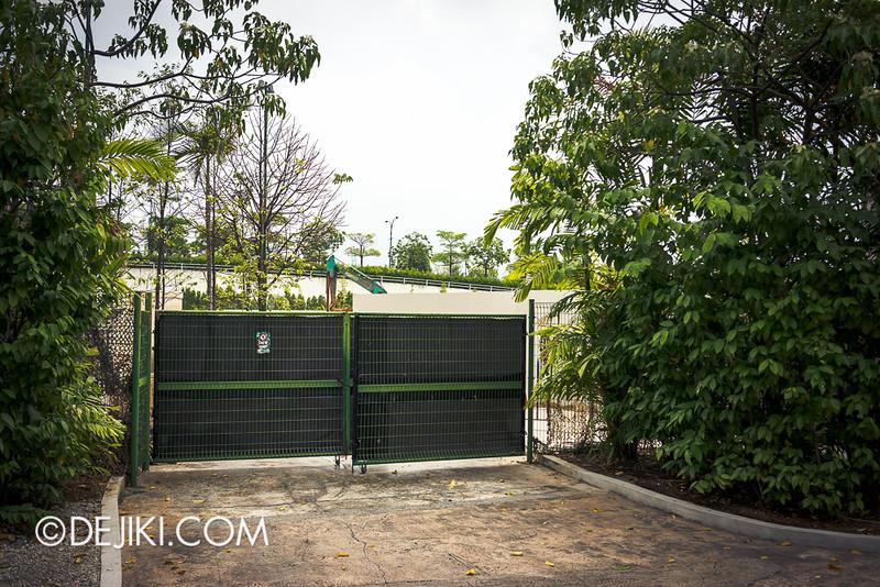 Universal Studios Singapore - Despicable Me Singapore construction