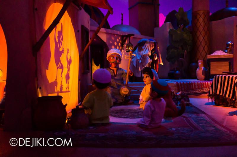 Sindbad's Storybook Voyage - Shadow Puppets