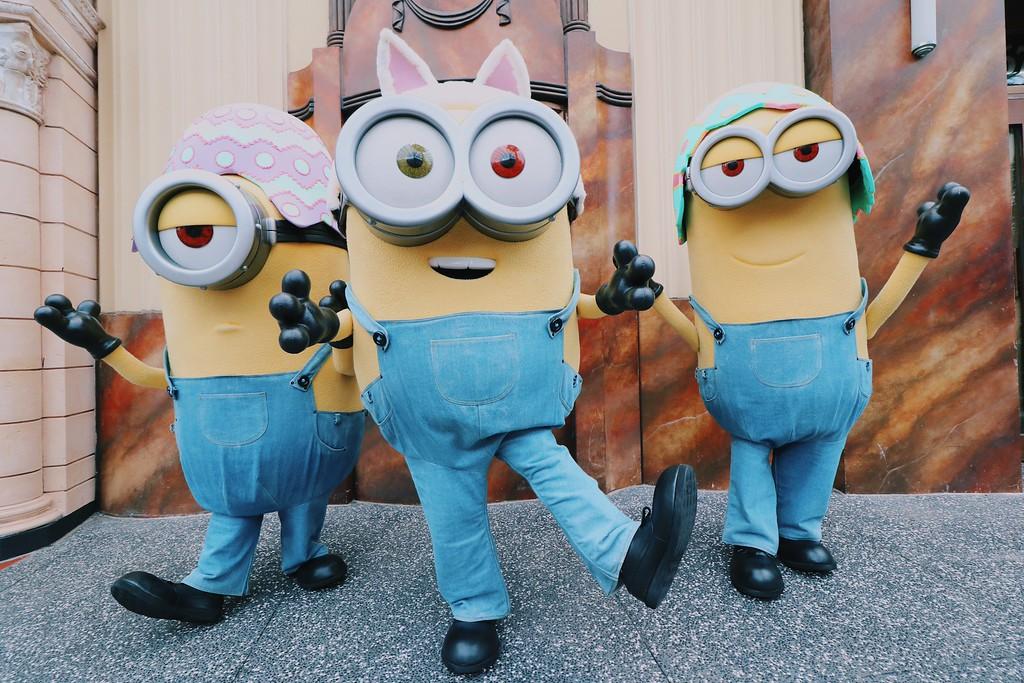 Universal Studios Singapore - Easter Eggstravaganza 2016 Event - Bunny Minions