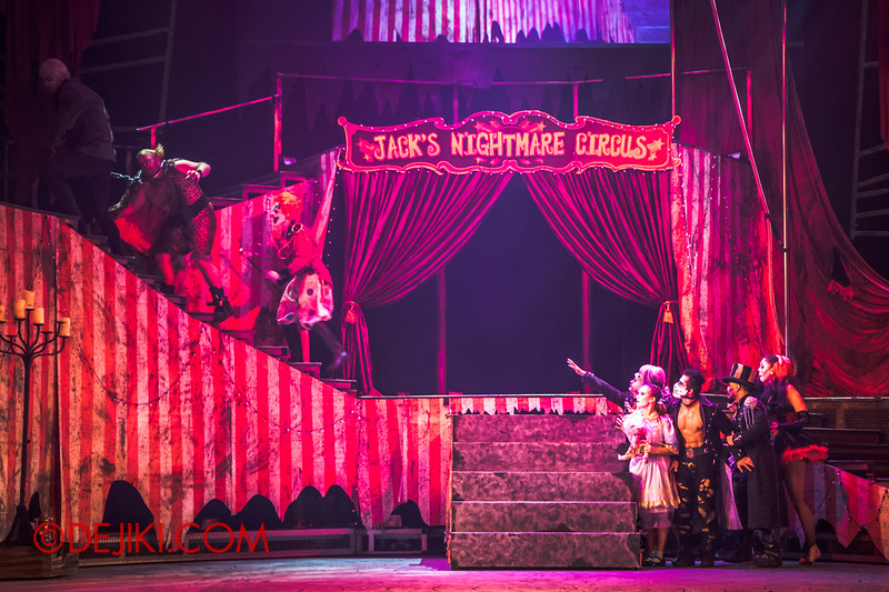 Halloween Horror Nights 4 - Jack's Nightmare Circus - Jack punishes Gordo Gamsby