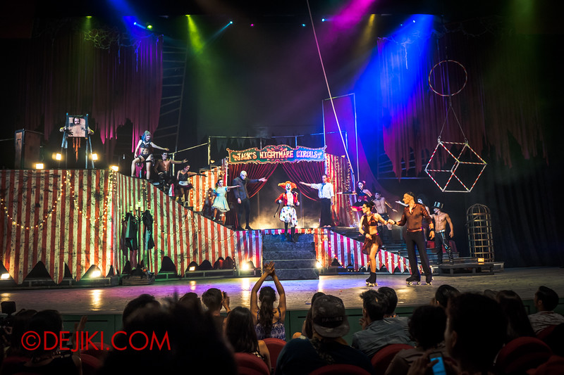 Halloween Horror Nights 4 - Jack's Nightmare Circus - Grand Finale 11