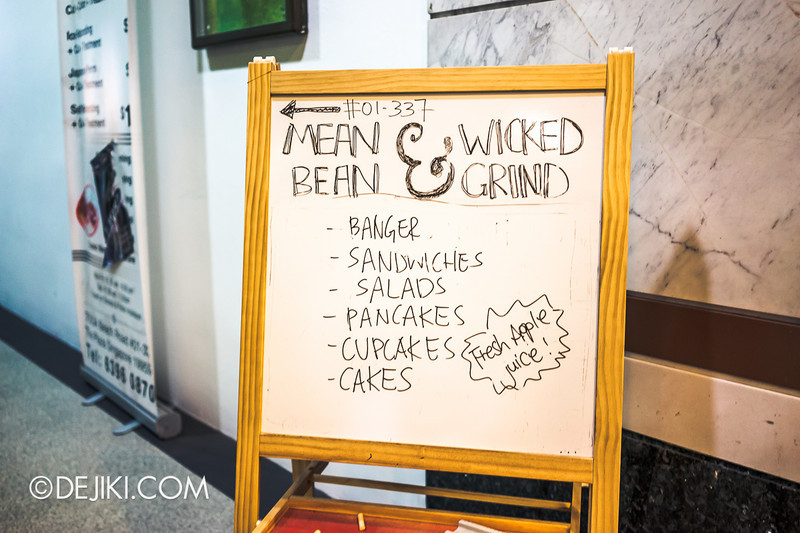Mean Bean & Wicked Grind - 1 / Sign