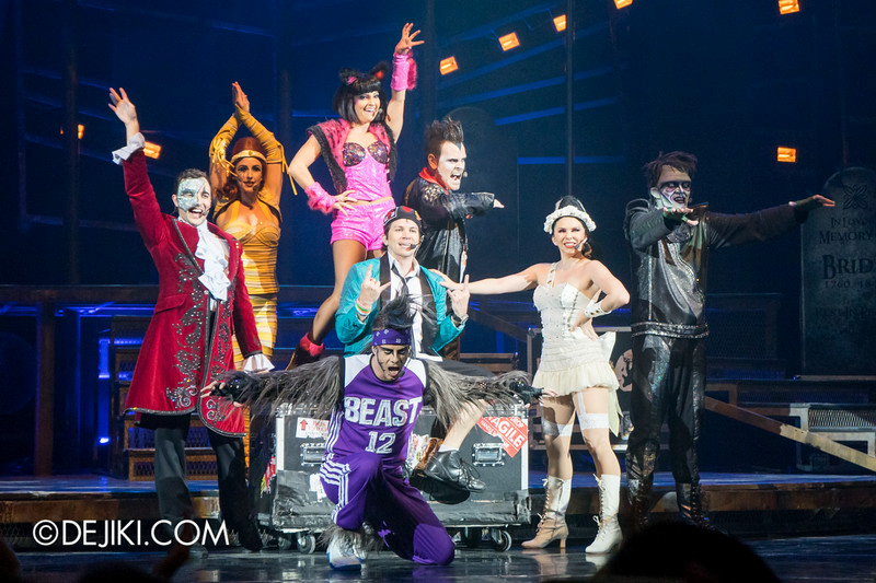 Universal Studios Singapore - Final Performance of Monster Rock, A Live Rock Musical - at Pantages Hollywood Theatre