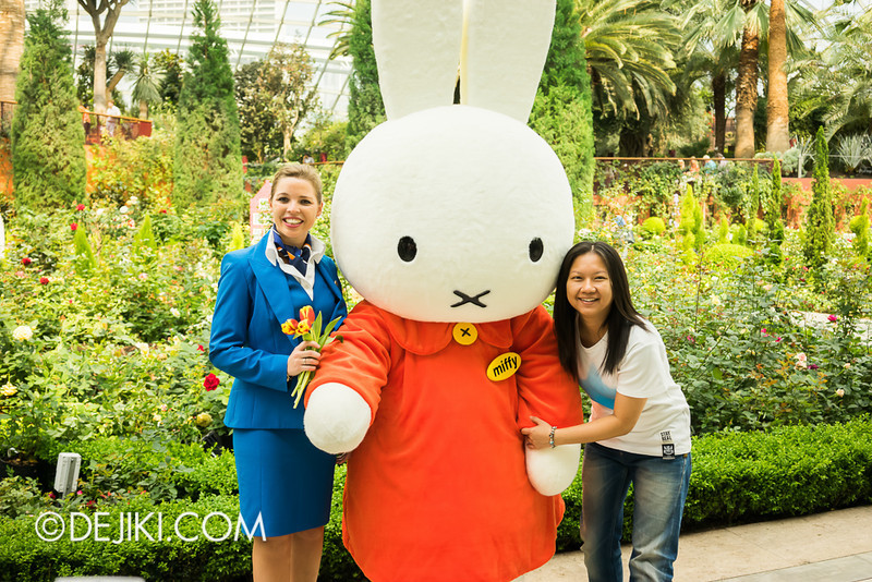 Miffy with KLM Flight Stewardess 5