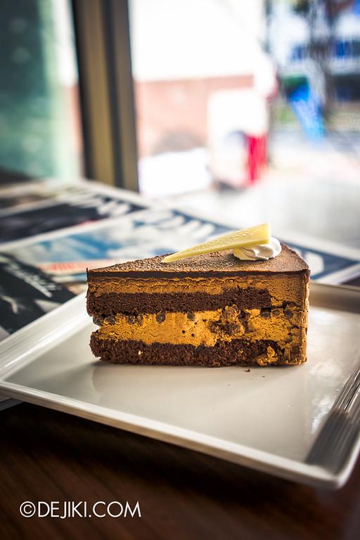 Tiferet Tea Room 18 - Dark Chocolate Deluxe cake