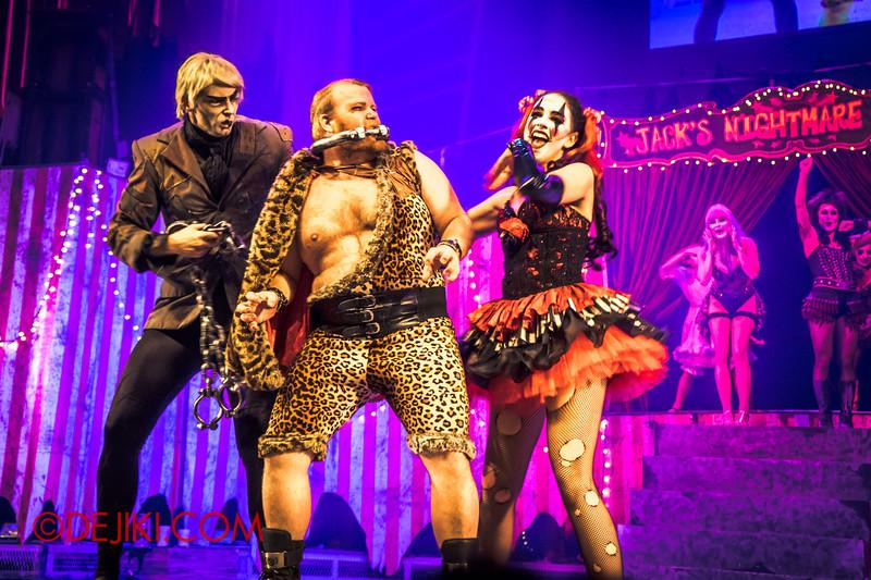 Halloween Horror Nights 4 - Jack's Nightmare Circus - Gordo Gamsby / Popular