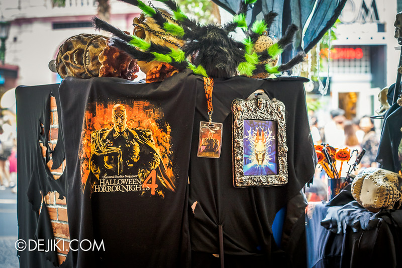 Universal Studios Singapore - Park Update August 2014 - Minister of Evil invades the Universal Studios Store / Creepy Store Displays