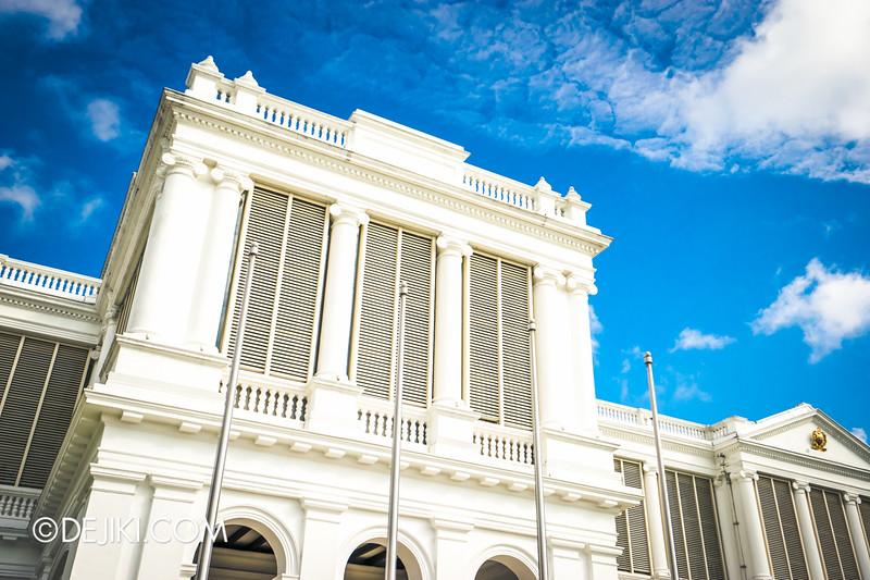 The Istana, Singapore - Istana Main Building, close-up angle