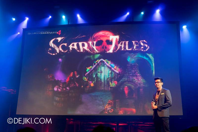 USS HHN4 Halloween Horror Nights 4 - Media Preview Launch event / SCARY TALES