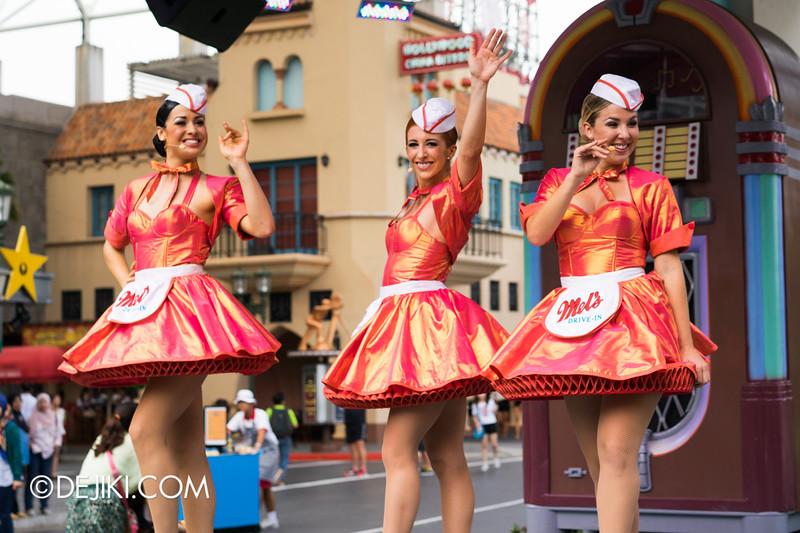 Universal Studios Singapore - Park Update September 2014 - Mel's Dinettes