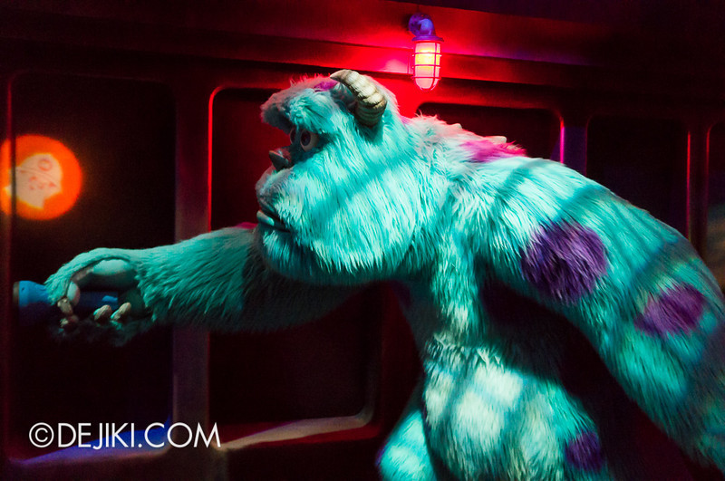 Monsters, Inc: Ride and Go Seek! on-ride experience 6