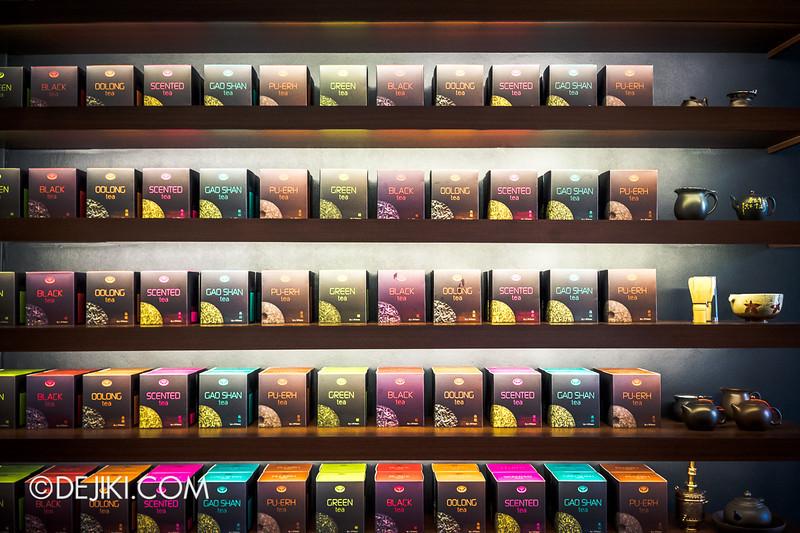 Tiferet Tea Room 10 - Tea Wall