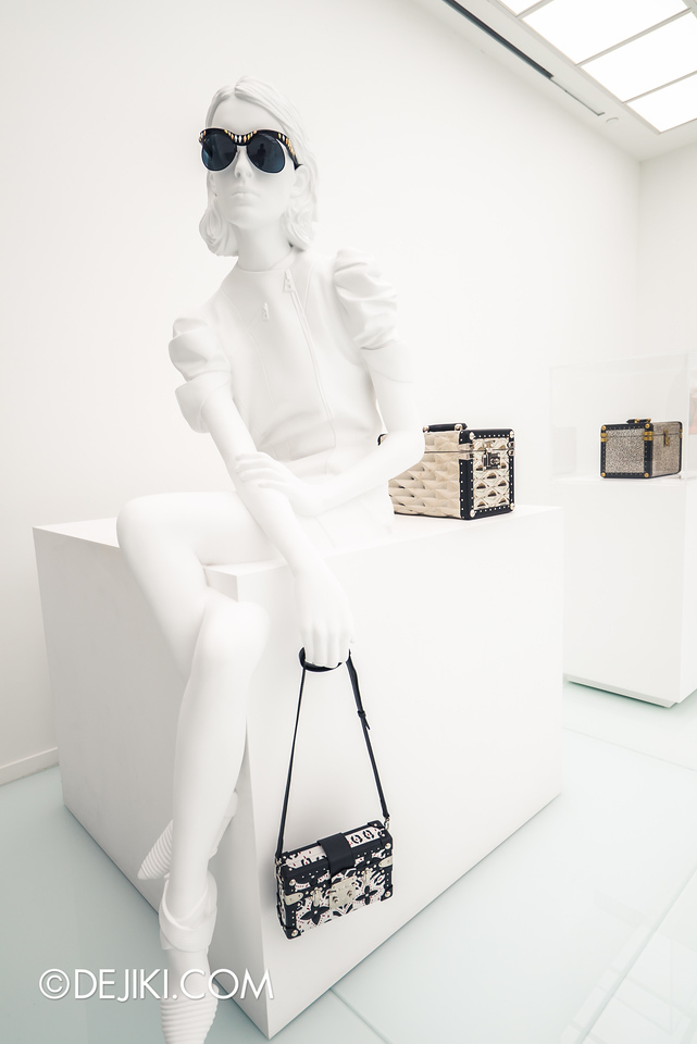 Louis Vuitton Series 3 Exhibition - Accessories Gallery / Silhouette in White